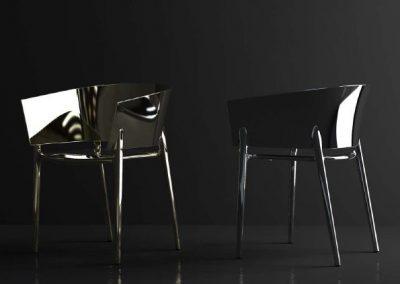 Modernūs lauko baldai krėsliukai Africa 14