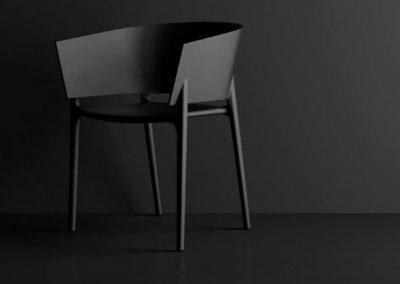Modernūs lauko baldai krėsliukas Africa 6