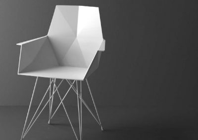 Modernūs lauko baldai krėsliukas Faz 36