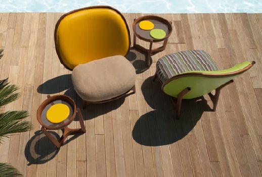 Modernūs lauko baldai krėsliukas Mod.1292.1