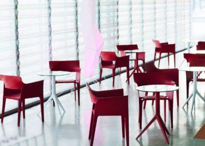 Modernūs lauko baldai krėsliukas Pedrera