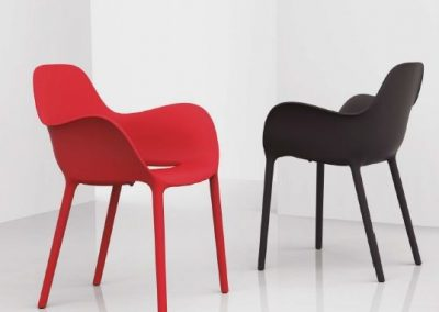 Modernūs lauko baldai krėsliukas Sabinas 1