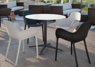 Modernūs lauko baldai krėsliukas Sabinas 8