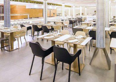 Modernūs lauko baldai krėsliukas Sabinas 9