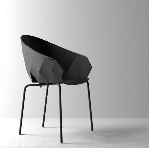 Modernūs lauko baldai krėsliukas Vases 14