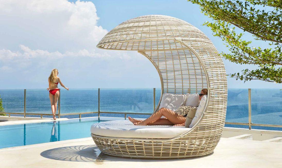 Modernūs lauko baldai lova Cancun 1