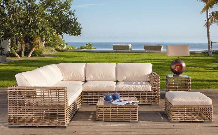 Modernūs lauko baldai sofa Castries 1