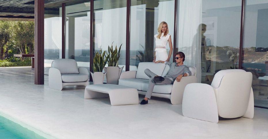 Modernūs lauko baldai sofa Pezzettina