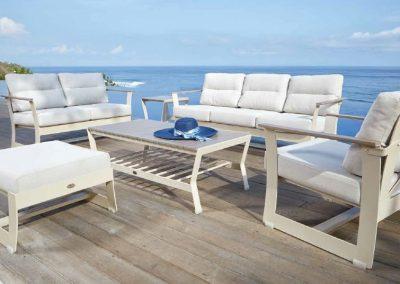 Modernūs lauko baldai sofa Rhone