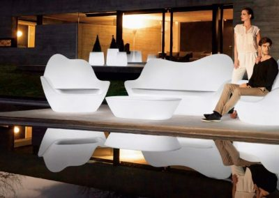 Modernūs lauko baldai sofa Sabinas