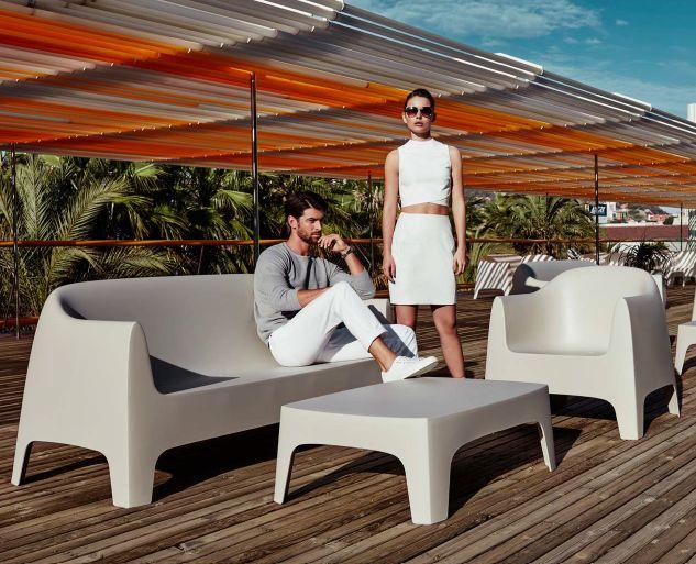 Modernūs lauko baldai sofa Solid 1