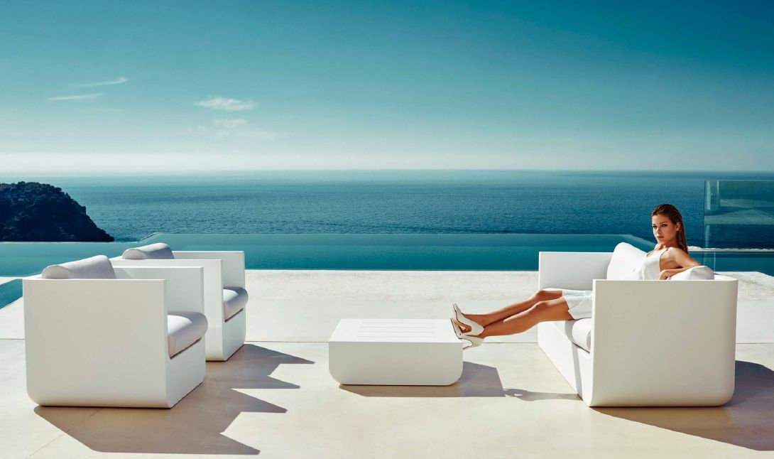 Modernūs lauko baldai sofa Ulm