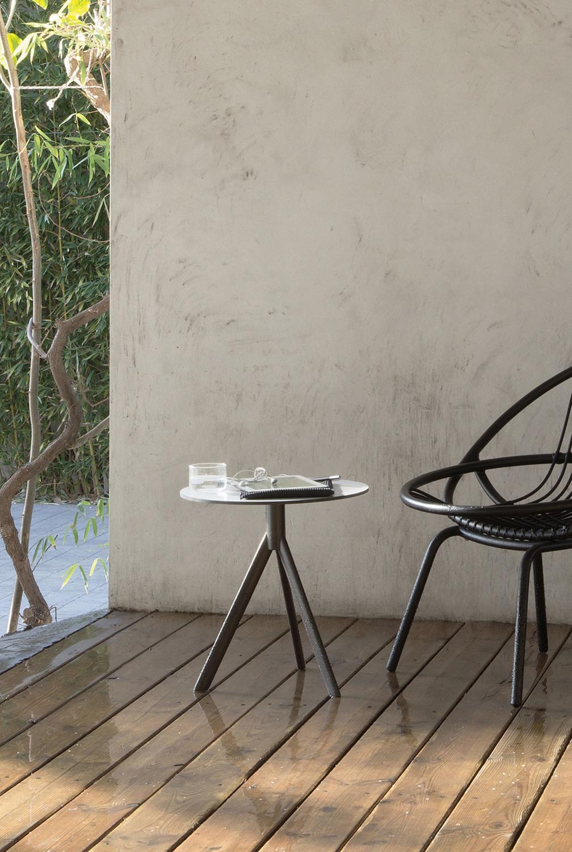 Modernūs lauko baldai staliukas Cafe