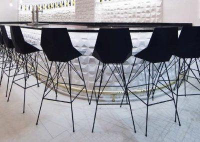 Modernūs lauko baldaibaro kėdė Faz 2