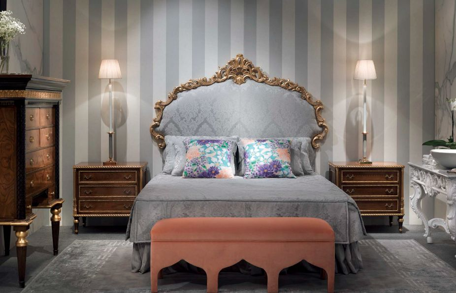 Klasikiniai miegamojo baldai Aisha
