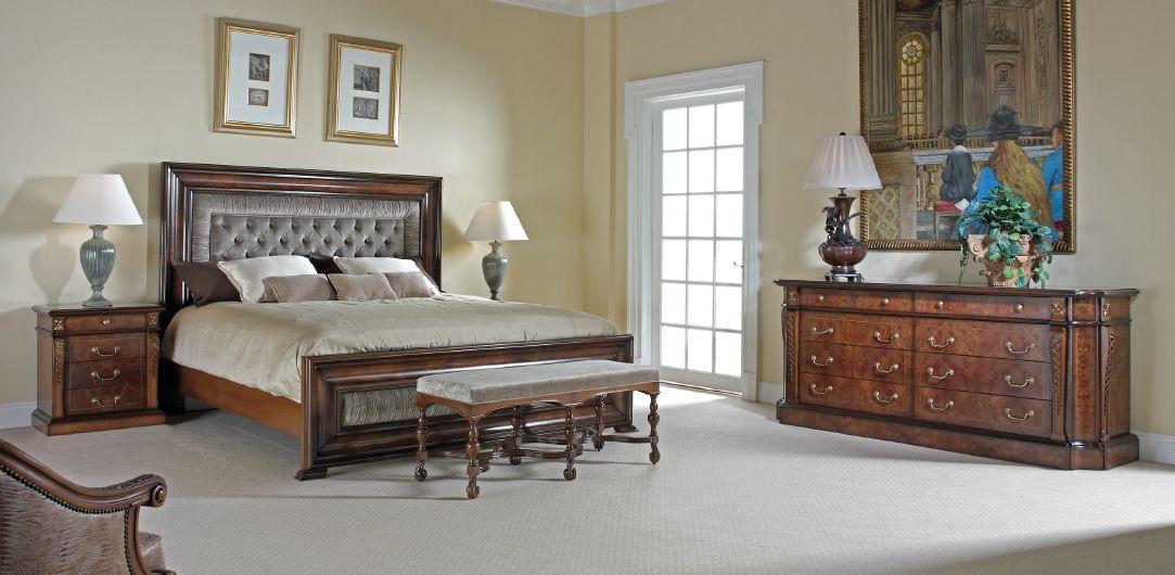 Klasikiniai miegamojo baldai Dali