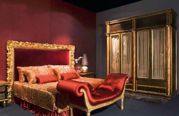 Klasikiniai miegamojo baldai Fabiola 2