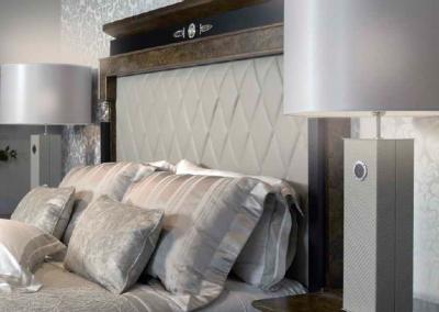 Klasikiniai miegamojo baldai Leonid 5