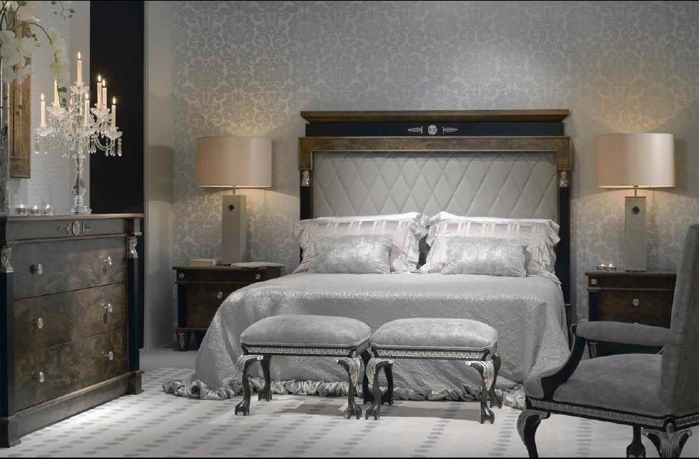 Klasikiniai miegamojo baldai Leonid