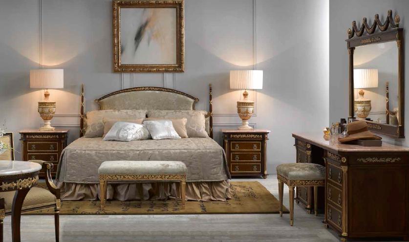Klasikiniai miegamojo baldai Maria 2