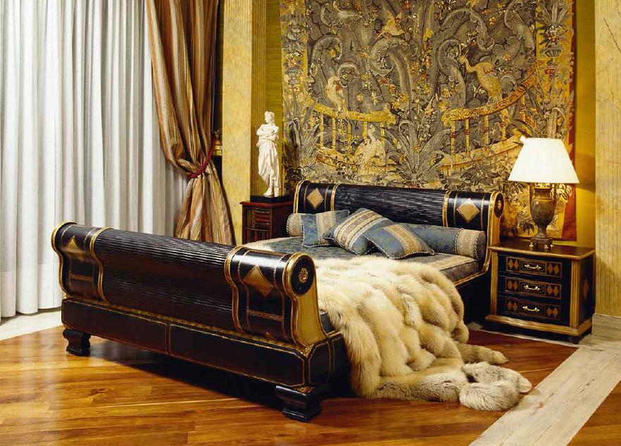 Klasikiniai miegamojo baldai Marta
