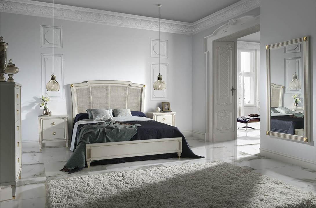 Klasikiniai miegamojo baldai Pasion
