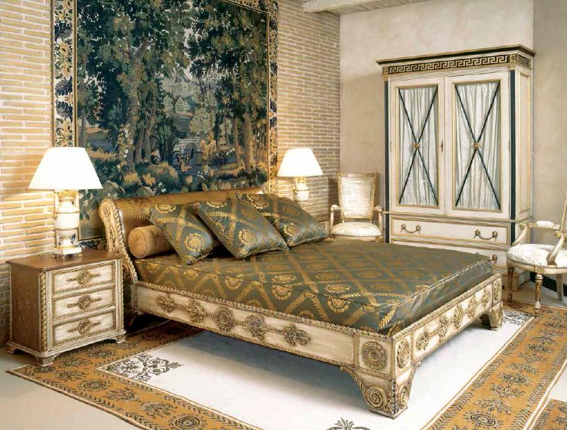 Klasikiniai miegamojo baldai Torro