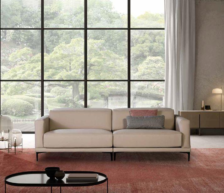 Modernūs minkšti svetainės baldai sofa Delfos