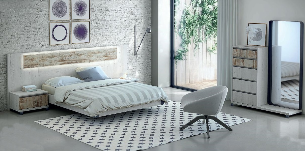Modernūs miegamojo baldai Esenzia 2_e111