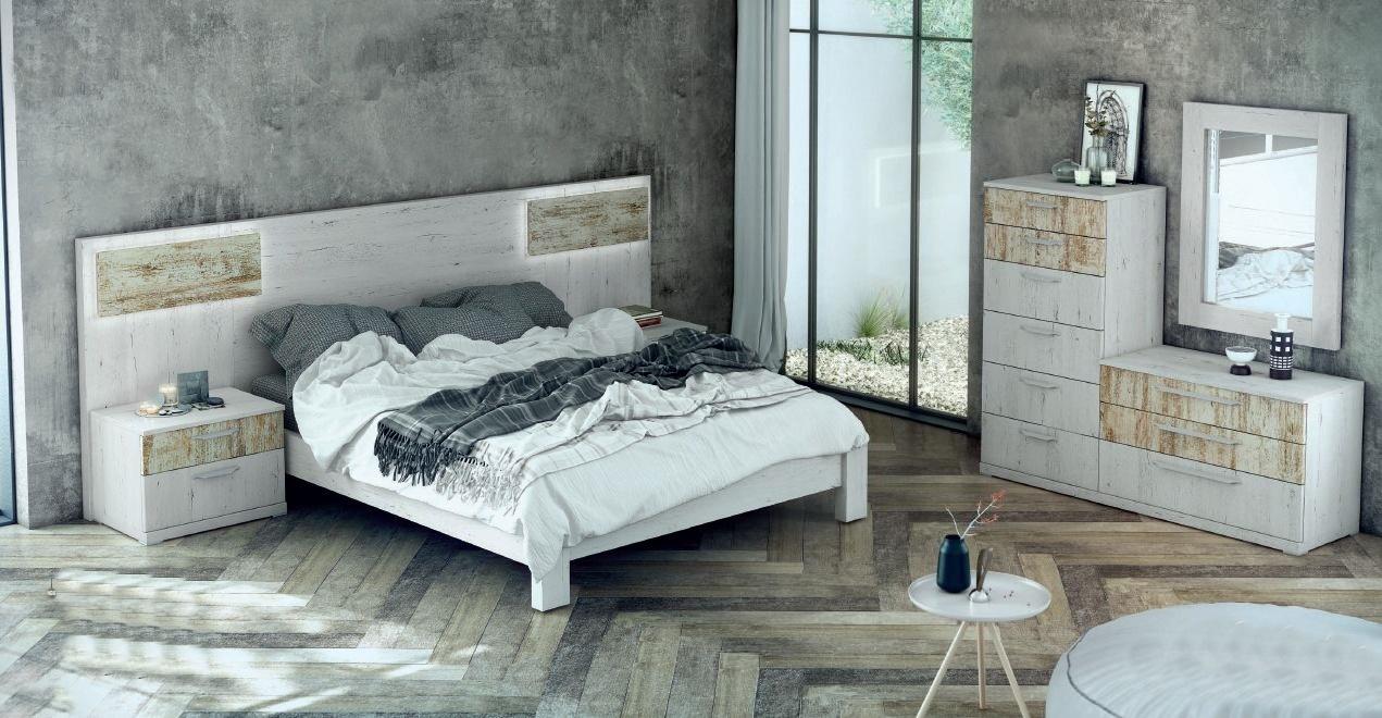 Modernūs miegamojo baldai Esenzia 2_e124