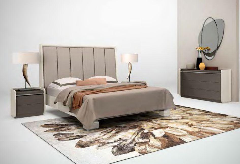 Modernūs miegamojo baldai Riviera