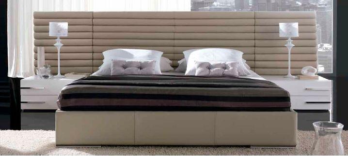 Modernūs miegamojo baldai Alba
