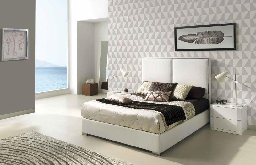 Modernūs miegamojo baldai Andrea