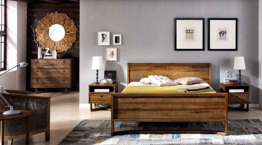 Modernūs miegamojo baldai Calvin