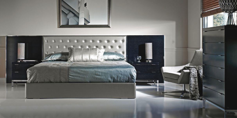 Modernūs miegamojo baldai City