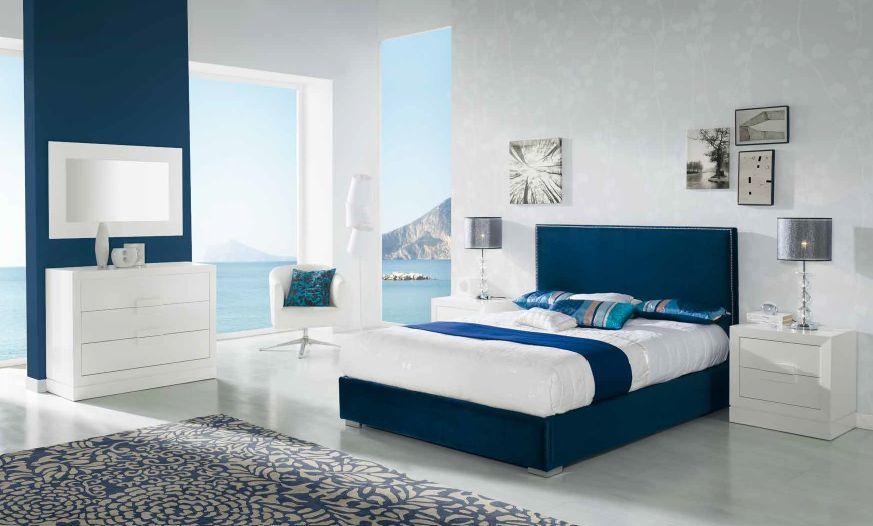Modernūs miegamojo baldai Cristina