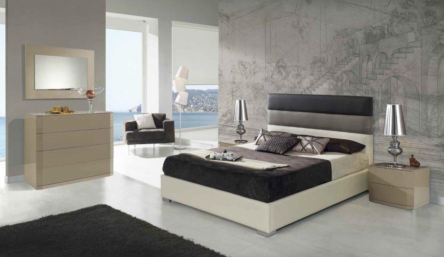 Modernūs miegamojo baldai Desiree