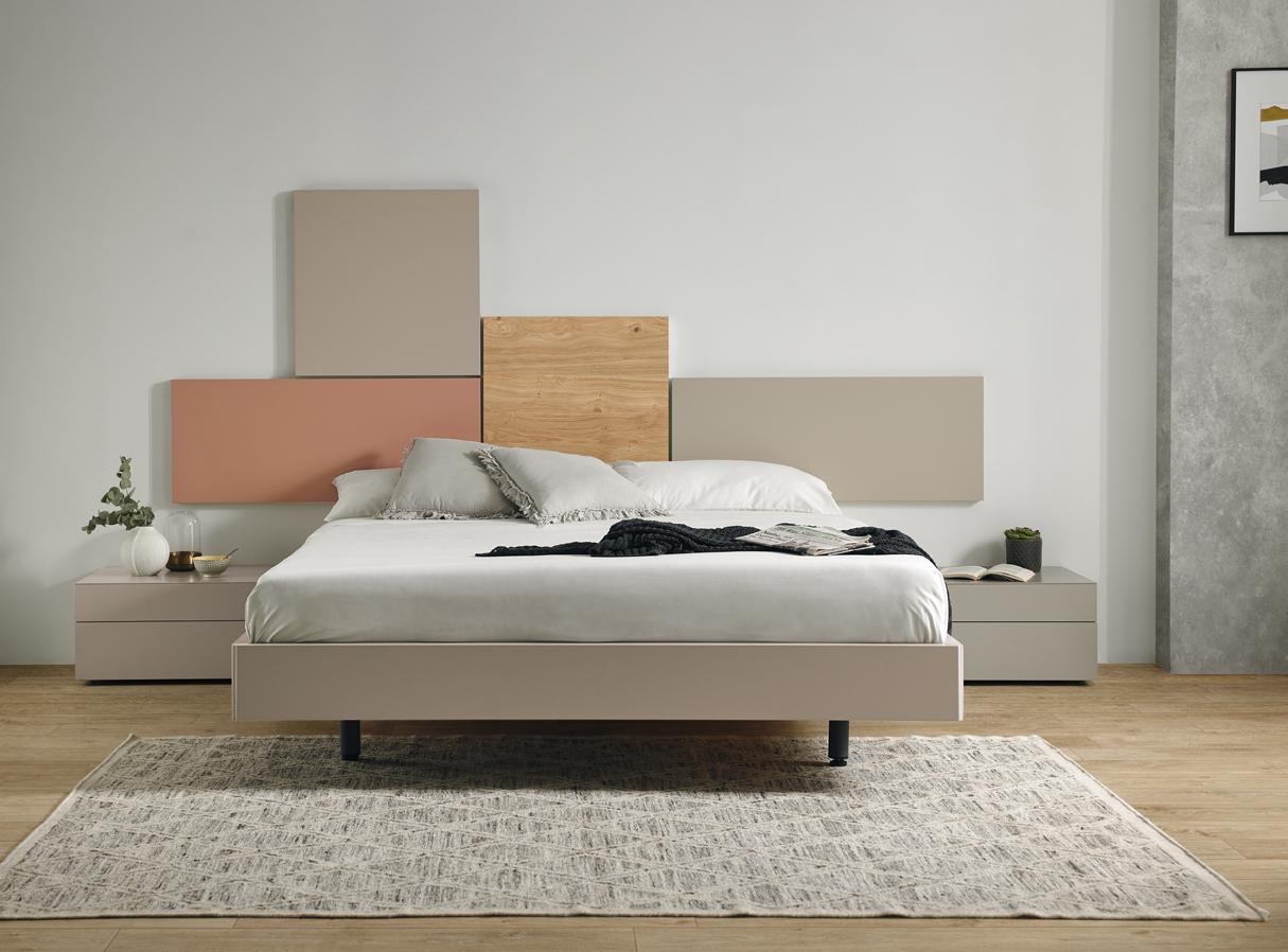 Modernūs miegamojo baldai Doan Feel 2
