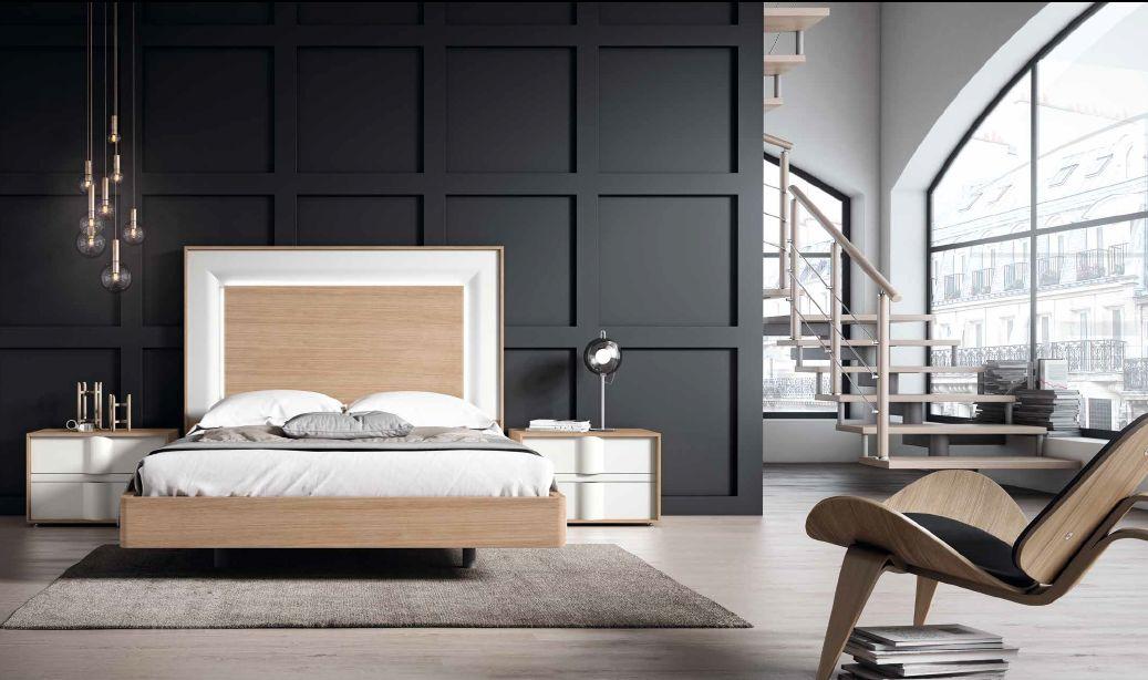 Modernūs miegamojo baldai Domus 023