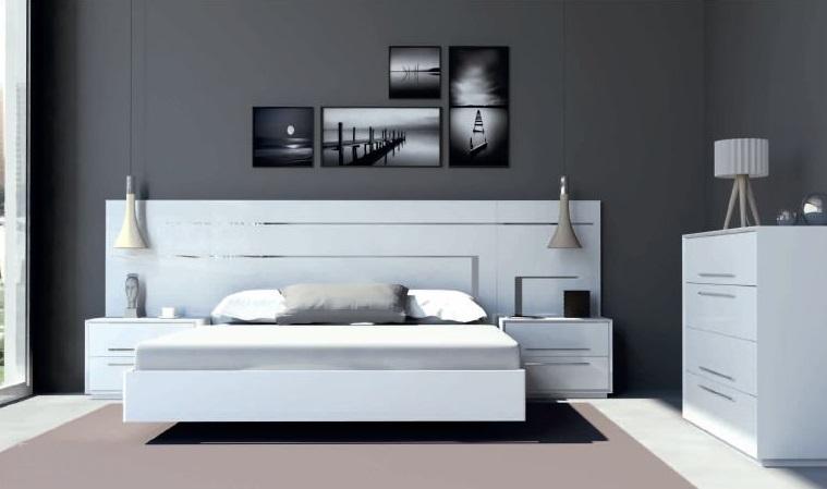 Modernūs miegamojo baldai Dream 04