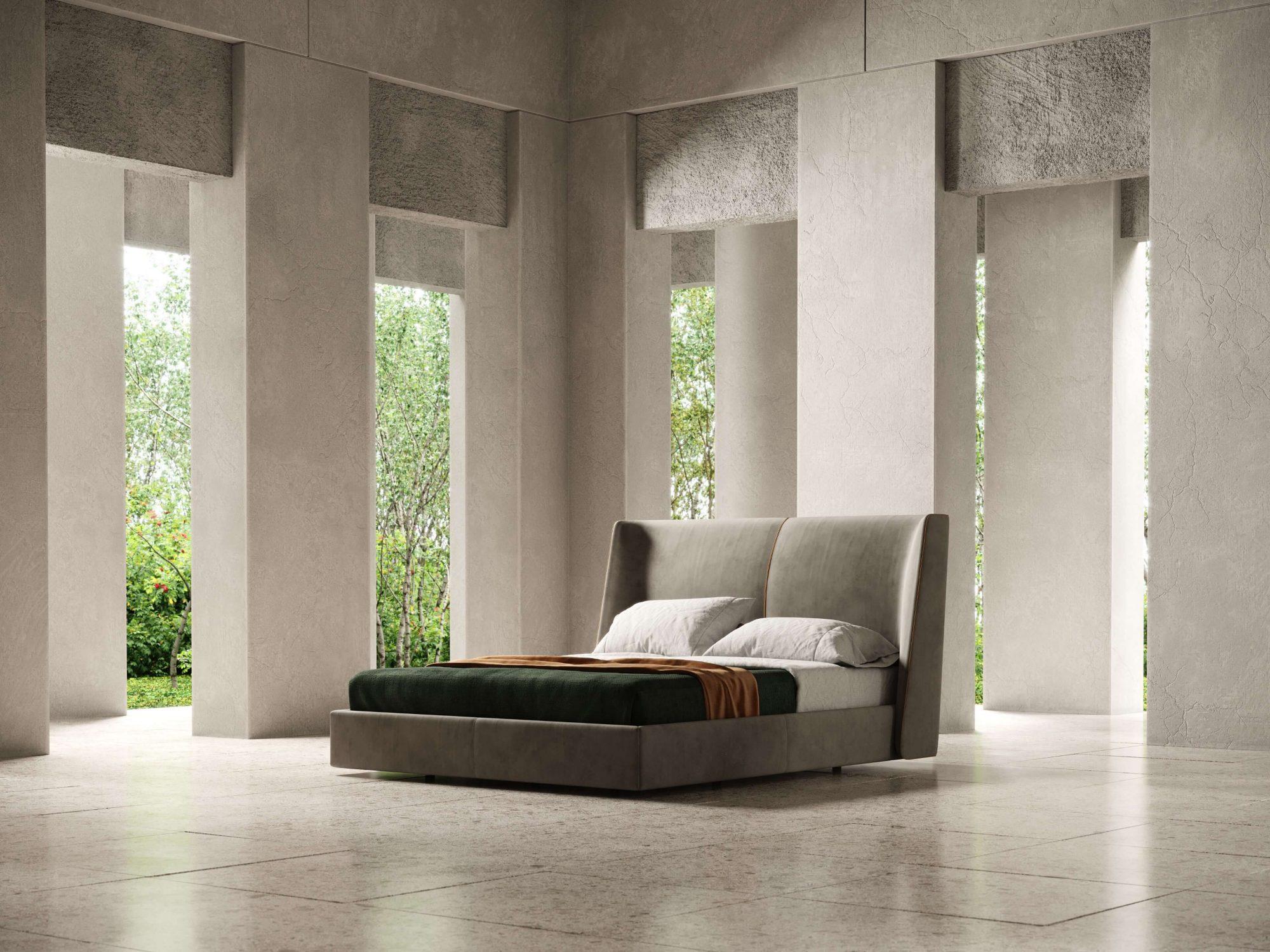 Modernūs miegamojo baldai Echo