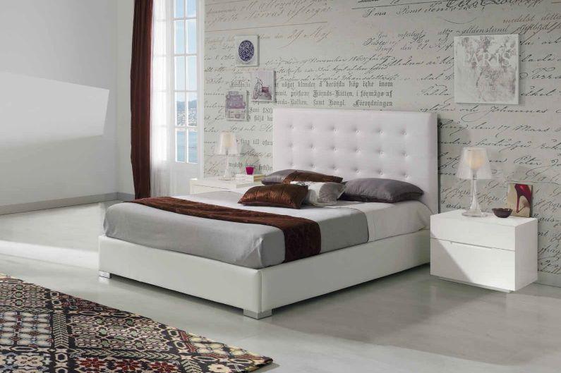 Modernūs miegamojo baldai Eva