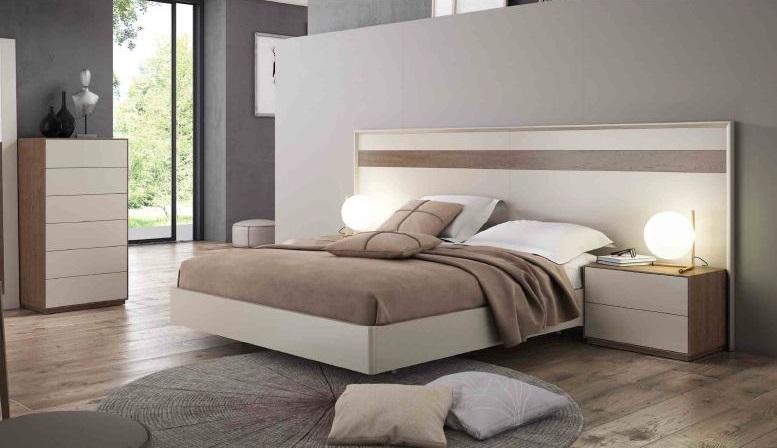 Modernūs miegamojo baldai Fine 01