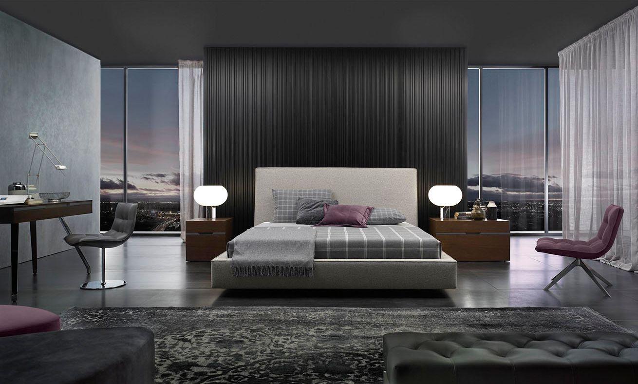 Modernūs miegamojo baldai Flavio