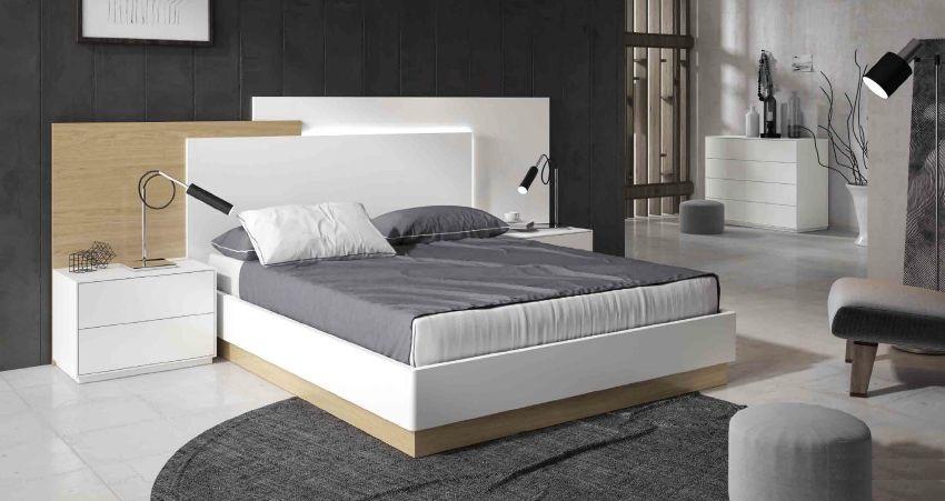 Modernūs miegamojo baldai Free 02