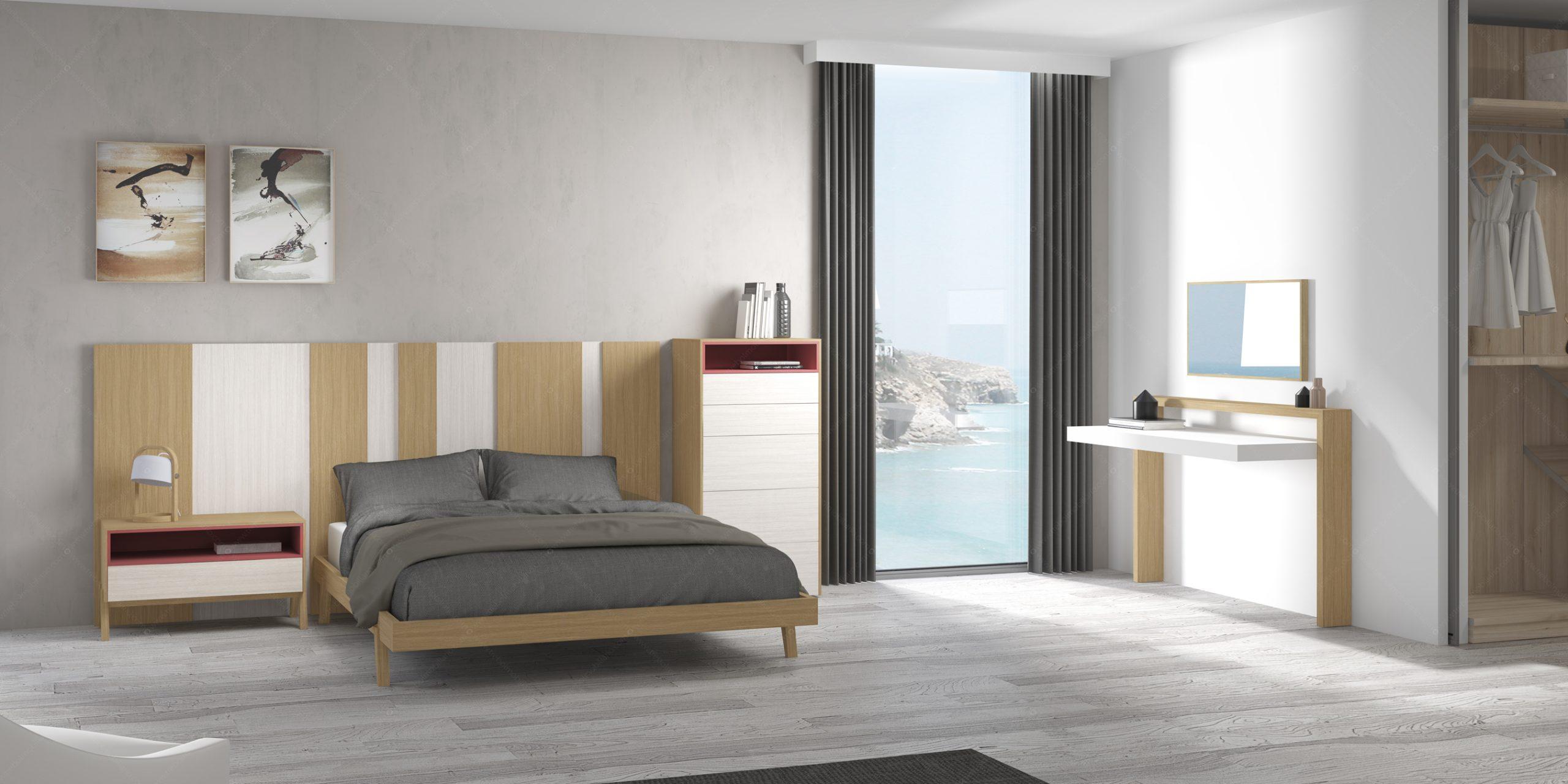 Modernūs miegamojo baldai Gen Z Matrimonio 02