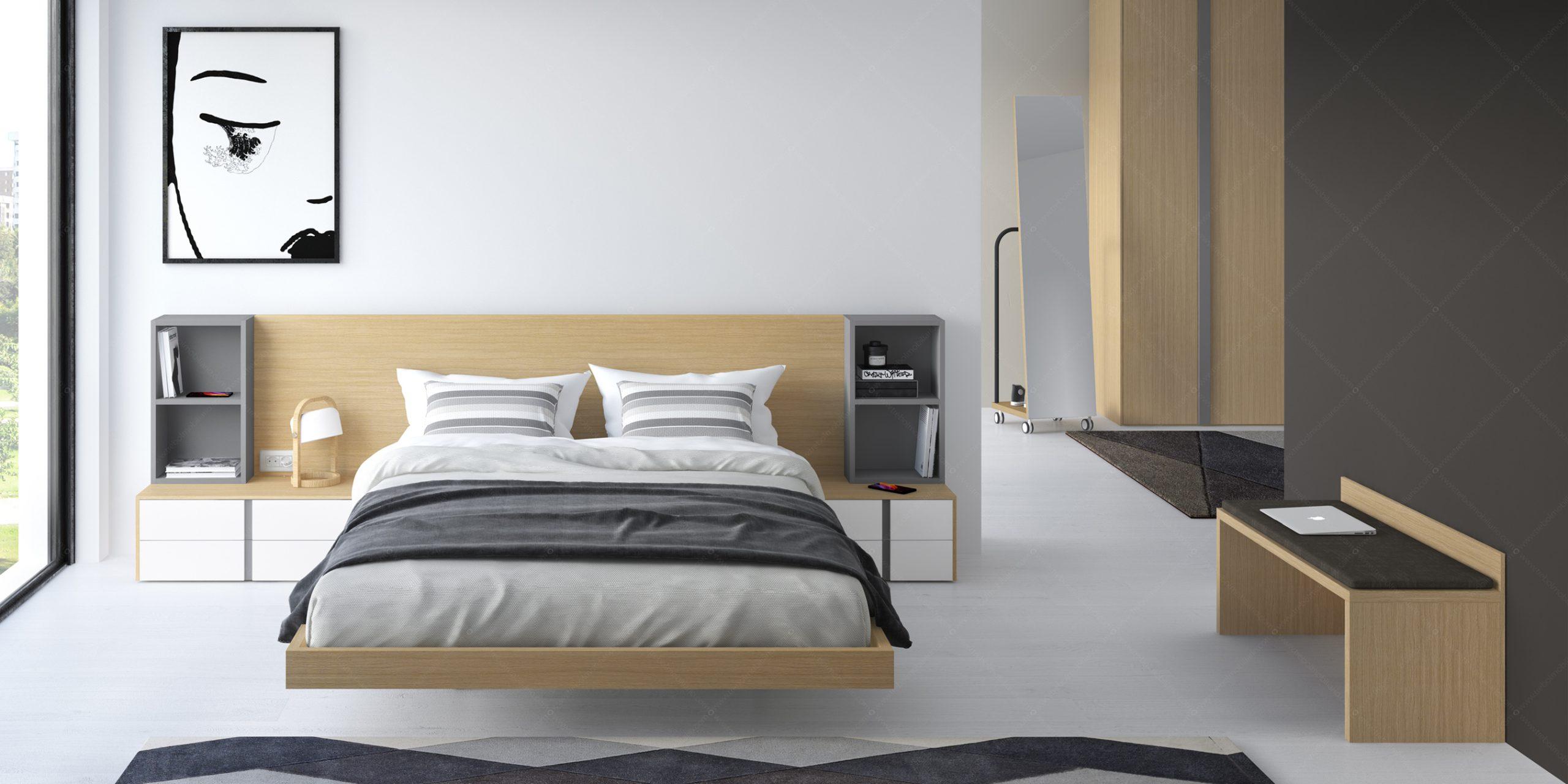 Modernūs miegamojo baldai Gen Z Matrimonio 04