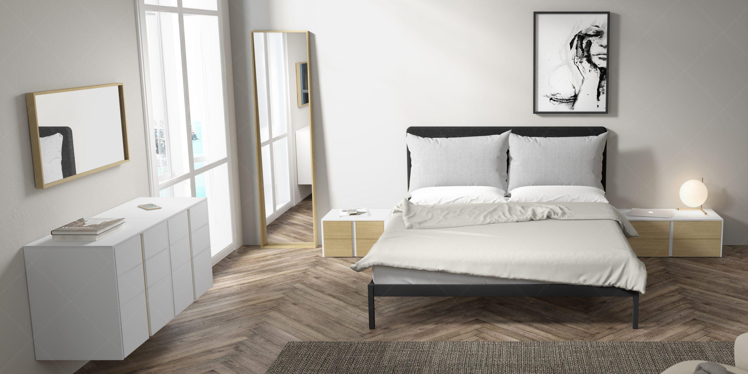Modernūs miegamojo baldai Gen Z Matrimonio 05