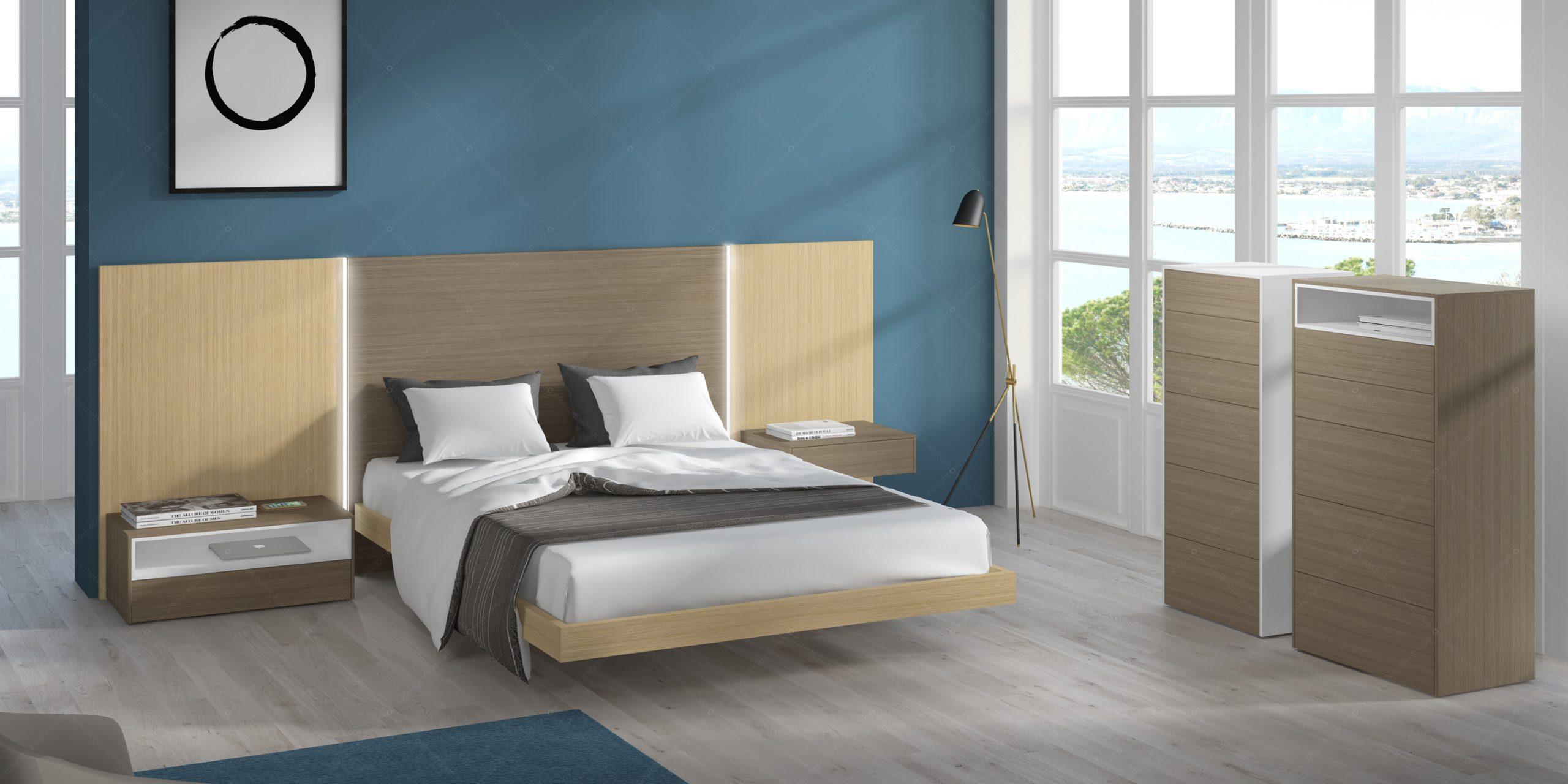 Modernūs miegamojo baldai Gen Z Matrimonio 06