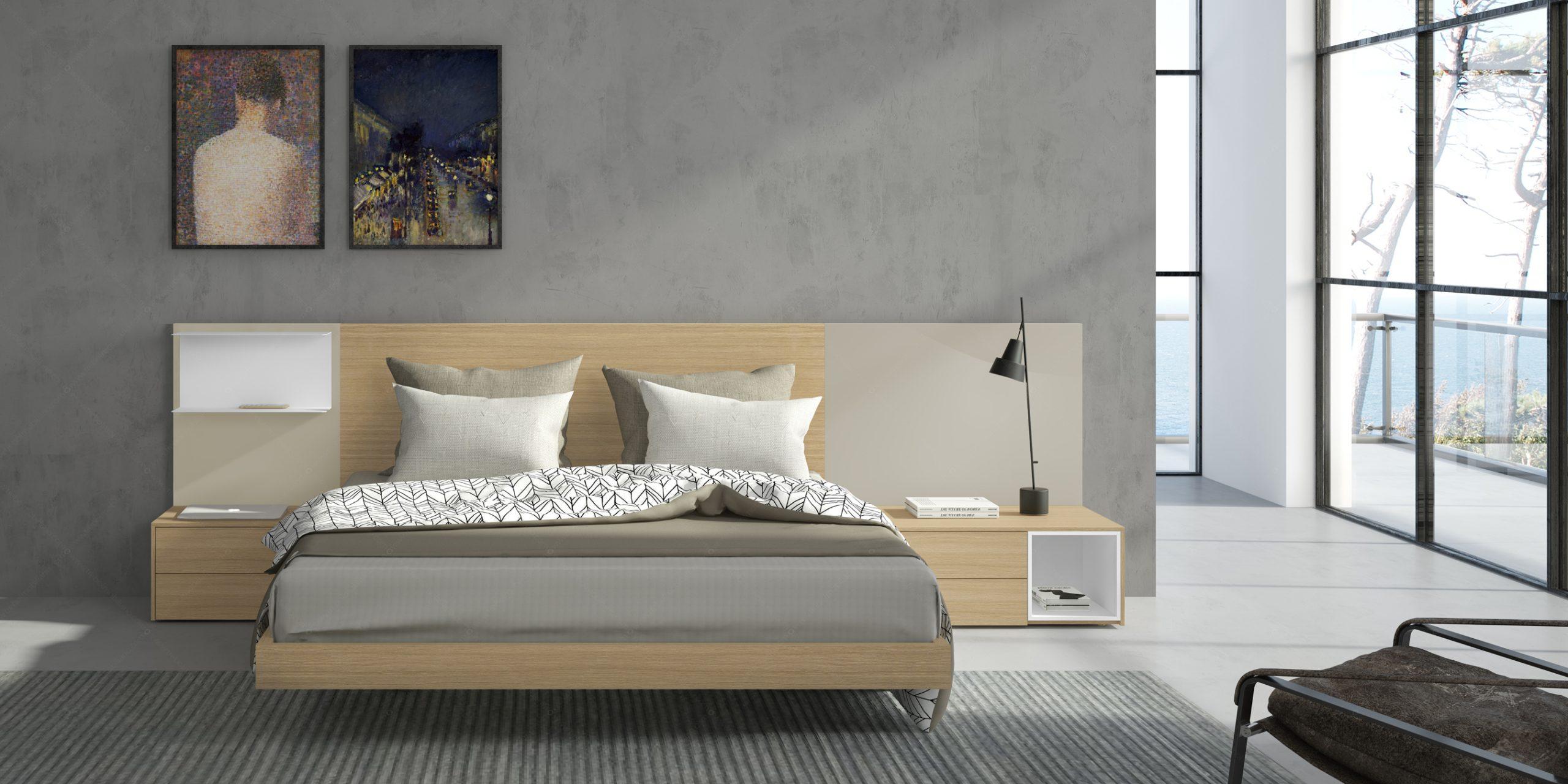 Modernūs miegamojo baldai Gen Z Matrimonio 07